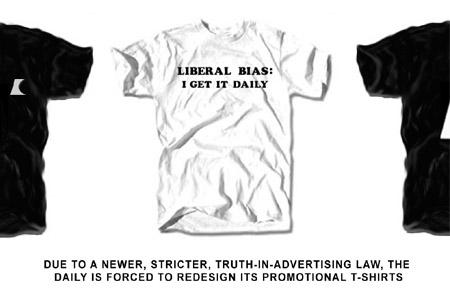 Liberal Bias: I Get It Daily