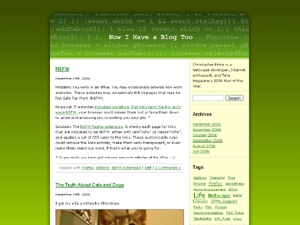 Greencode WordPress Theme