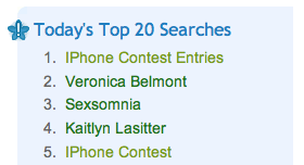 Top Mahalo Searches