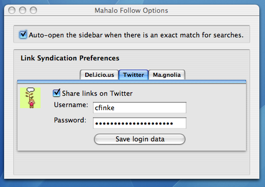 Follow 3.0's Preferences Dialog