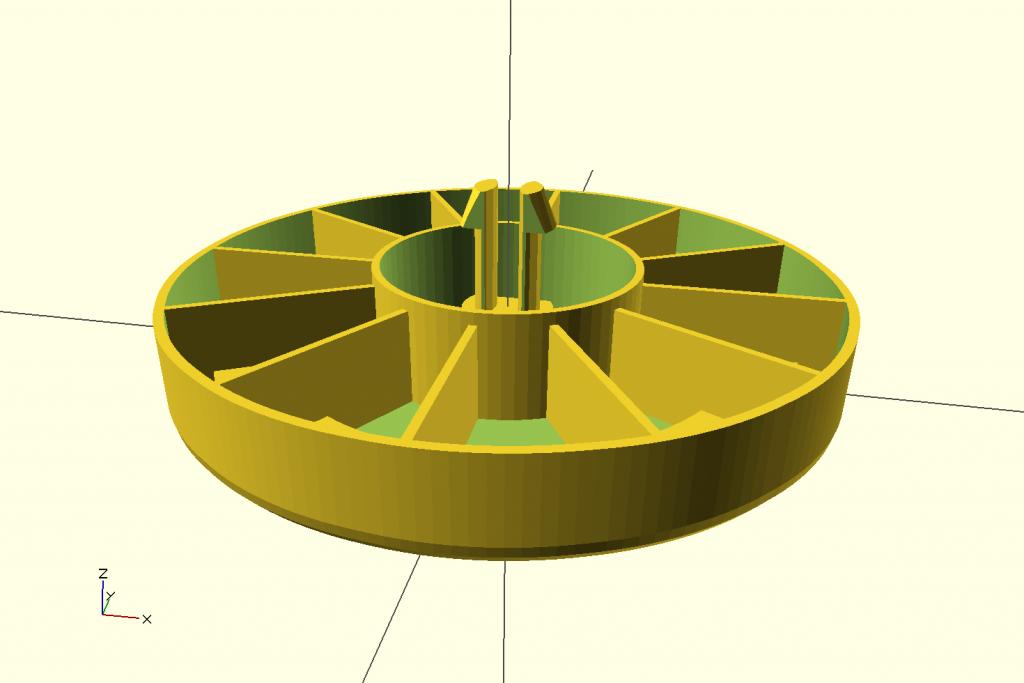 Vacuum Wheel Model