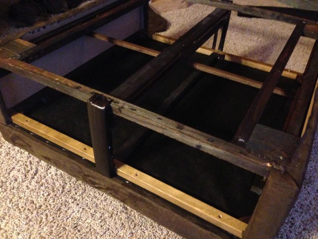 Reupholstered base