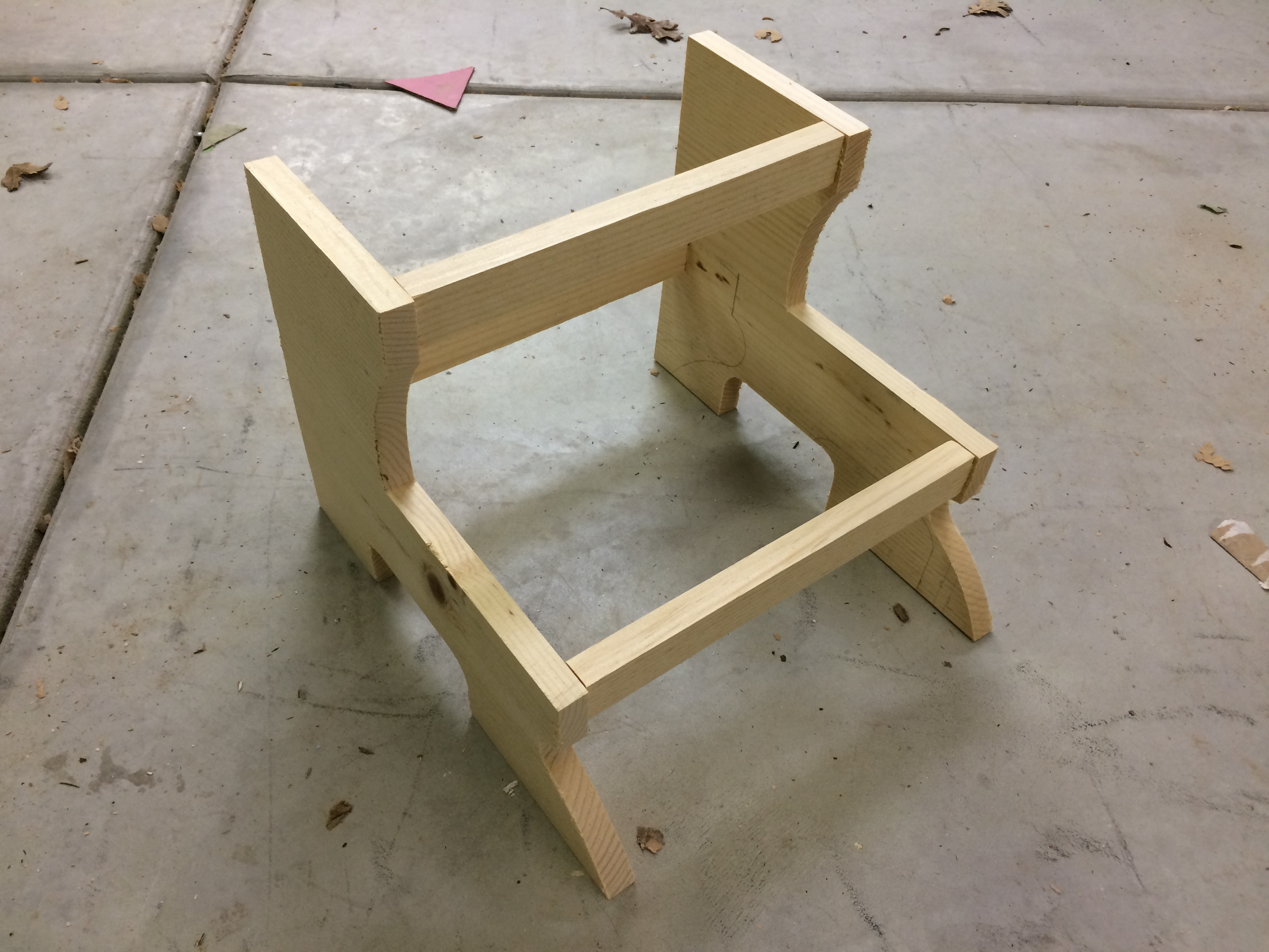A 1 Custom Cabinets Cnc Ing A Stepstool Out Of A 112